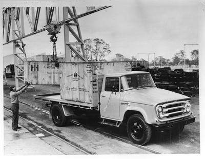 Film negative: International Harvester Company: International AB150