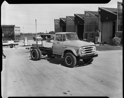 Film negative: International Harvester Company: truck cab