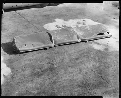 Film negative: International Harvester Company: damaged header parts