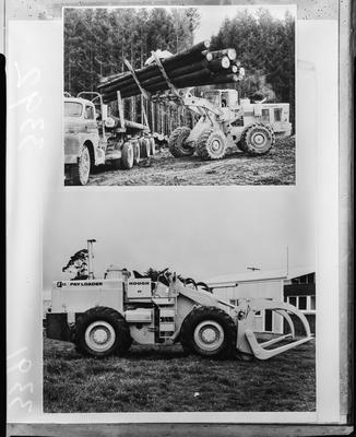 Film negative: International Harvester Company: Hough construction machines