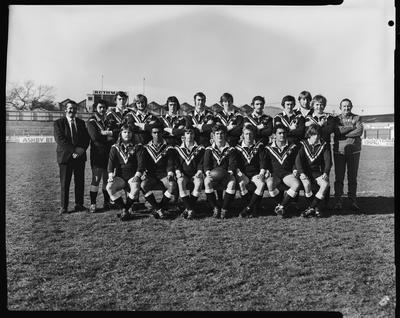 Film negative: Australian and New Zealand University League teams