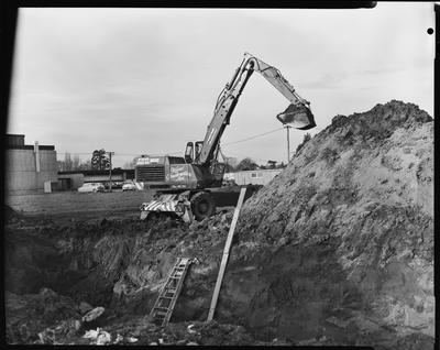 Film negative: Industrial Steel and Plant Limited, Proclam digger