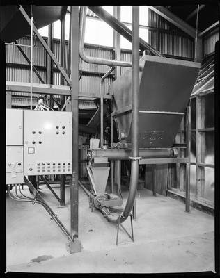 Film negative: Flemings Flour Mill, control board