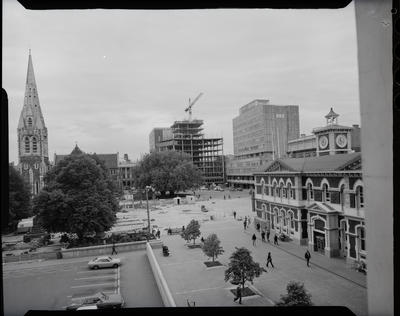 Film negative: Cathedral Square