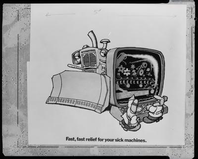 Film negative: International Harvester Company: advertising