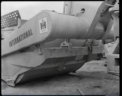 Film negative: International Harvester Company: 295 scraper faults