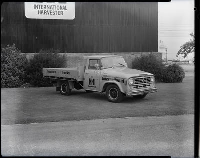 Film negative: International Harvester Company: service and parts truck