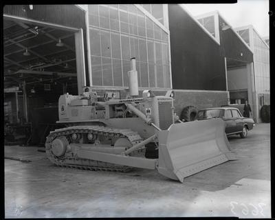 Film negative: International Harvester Company: TD15C tractor