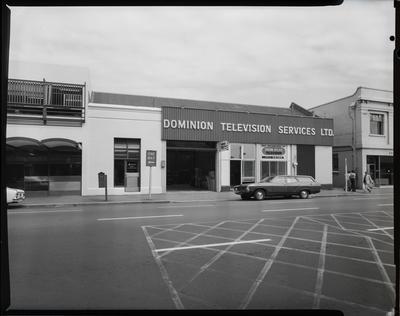 Film negative: Dominion Television Services, Tuam Street