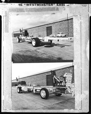 Film negative: International Harvester Company: truck chassis