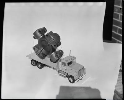 Film negative: International Harvester Company: model truck for universal unit