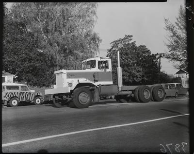 Film negative: International Harvester Company: Pacific truck