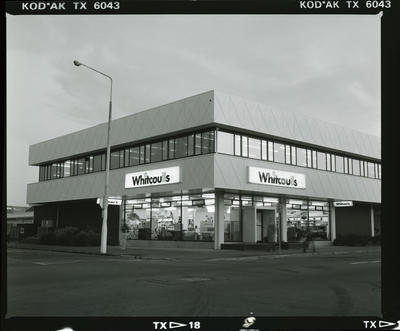 Negative; Whitcoulls Building Exterior