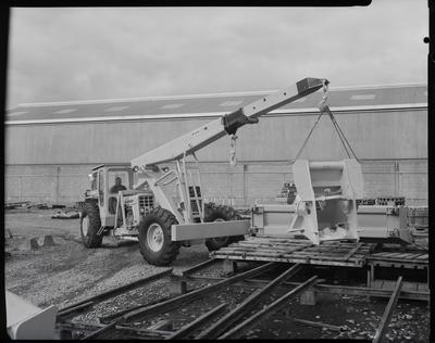 Film negative: International Harvester Company: crane