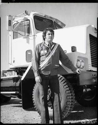 Film negative: International Harvester Company: Mr Lindsay Taylor and IHC jacket