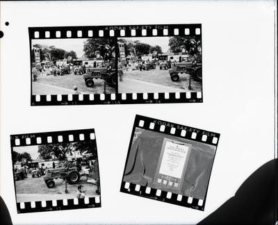 Film negative: International Harvester Company: A and P Show, copy of four 35mm contact negatives