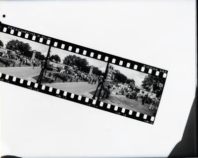 Film negative: International Harvester Company: A and P Show, copy of three 35mm contact negatives