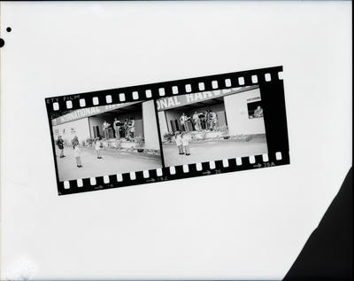 Film negative: International Harvester Company: A and P Show, copy of two 35mm contact negatives