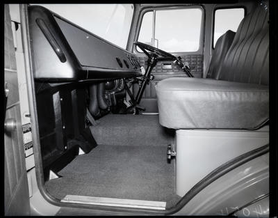 Film negative: International Harvester Company: CCOA truck chassis and cab