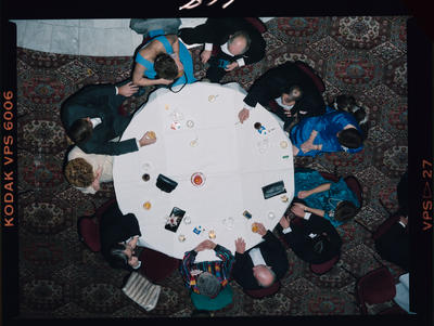 Negative: NZI Ball People At Table