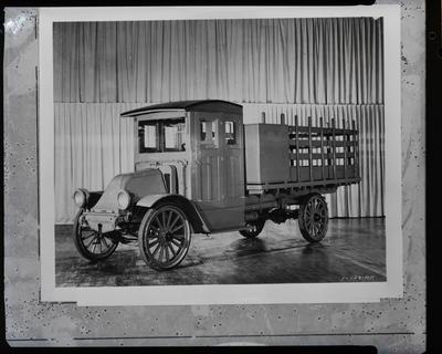 Film negative: International Harvester Company: vintage truck