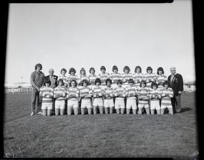 Film negative: League Schools, Boys Under 15 Tournament, unidentified team