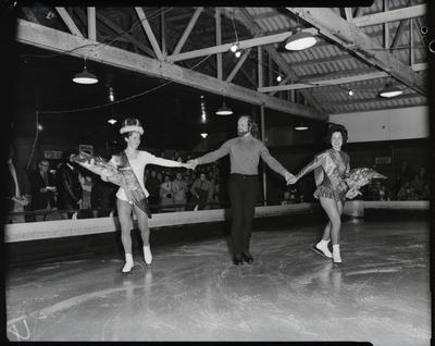 Film negative: Auckland Ice Skaters, three winners