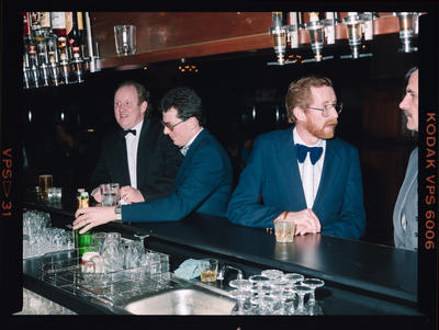 Negative: NZI Ball Four Men At A Bar
