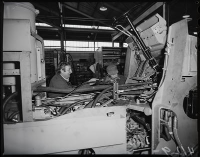 Film negative: International Harvester Company: driving area and control systems