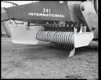 Film negative: International Harvester Company: 241 baler modifications