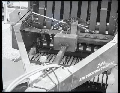 Film negative: International Harvester Company: 241 baler modifications