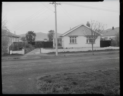 Film negative: Kerr, McIntosh and Brodie Solicitors, house photo, Hines case