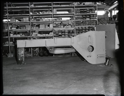 Film negative: International Harvester Company: plough assembly pictures