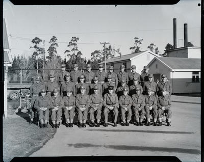 Film negative: Burnham Second Battalion