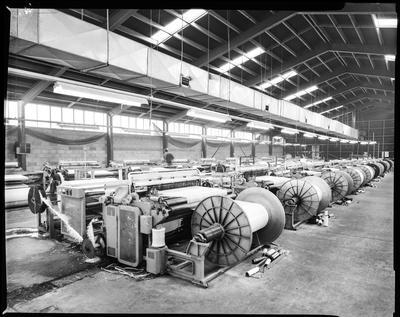 Film negative: Nixon Industries, interior and exterior
