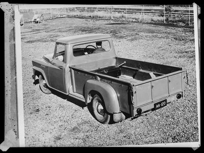 Film negative: International Harvester Company: 'A' line pickup truck