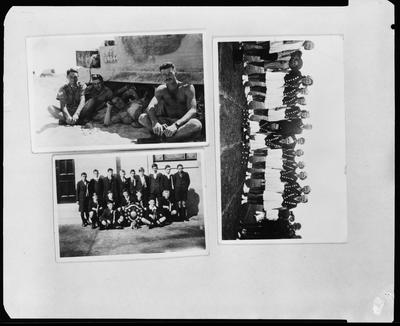 Film negative: 23rd Battalion and Mr A Stollery