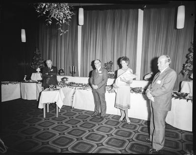 Film negative: Russley Hotel Function, retirement of manager