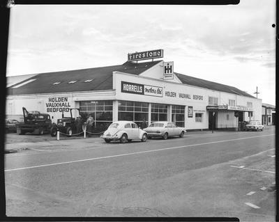 Film negative: International Harvester Company: Rangiora dealer, Horrells