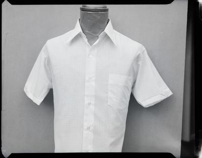 Film negative: Sim's Jones shirts