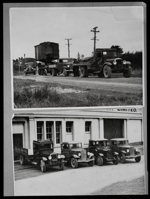 Film negative: International Harvester Company: Mooroy trucks