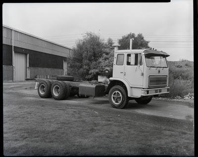 Film negative: International Harvester Company: 3070 truck for specification sheets