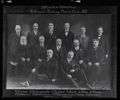 Negative: Richmond Working Men's Club Portrait Copy