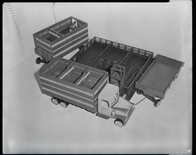 Film negative: International Harvester Company: Bill Bromhead model truck