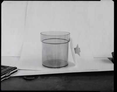 Film negative: Henshaw Plastics, vacuum container