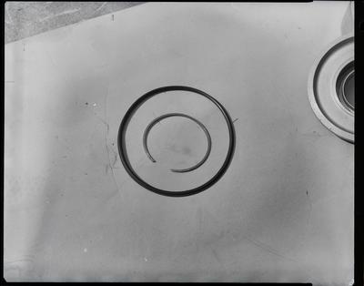 Film negative: International Harvester Company: Vic Cooper damaged transmission