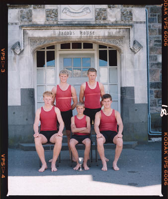 Negative: Christ's College Jacob's House Sports Team 1986