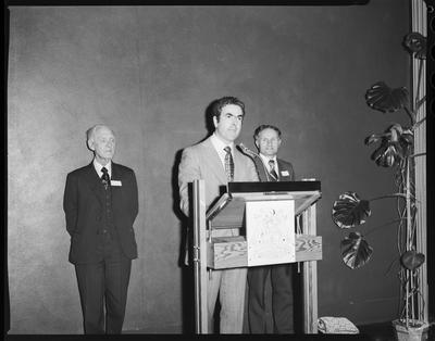 Film negative: Canterbury Saving's Bank, awards presentation