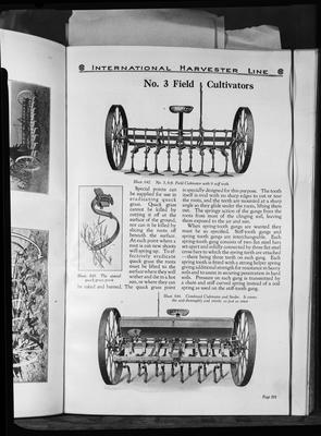 Film negative: International Harvester Company: catalogue from 1939