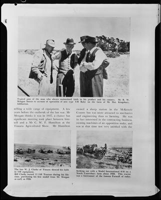 Film negative: International Harvester Company: catalogue from 1939, Timaru Agricultural Show